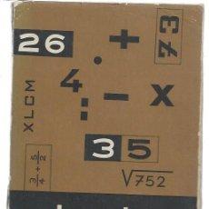 Libros de segunda mano: MATEMÁTICAS, GARCÍA ROCA, PRIMER CURSO, ED. BELLO VALENCIA 1962, 192 PÁGS, 16 POR 22CM, RÚSTICA. Lote 47338357