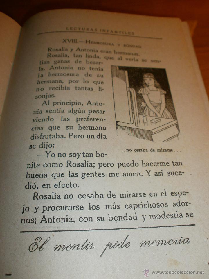 Libros de segunda mano: LECTURAS INFANTILES - PRIMER LIBRO - EZEQUIEL SOLANA - EDITORIAL ESCUELA ESPAÑOLA -1941 - Foto 4 - 47348831