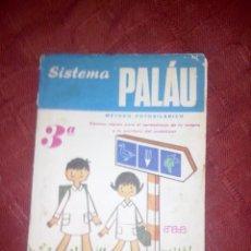 Libros de segunda mano: SISTEMA PALAU 1969 METODO FOLOSILABICO 3º. Lote 47472989