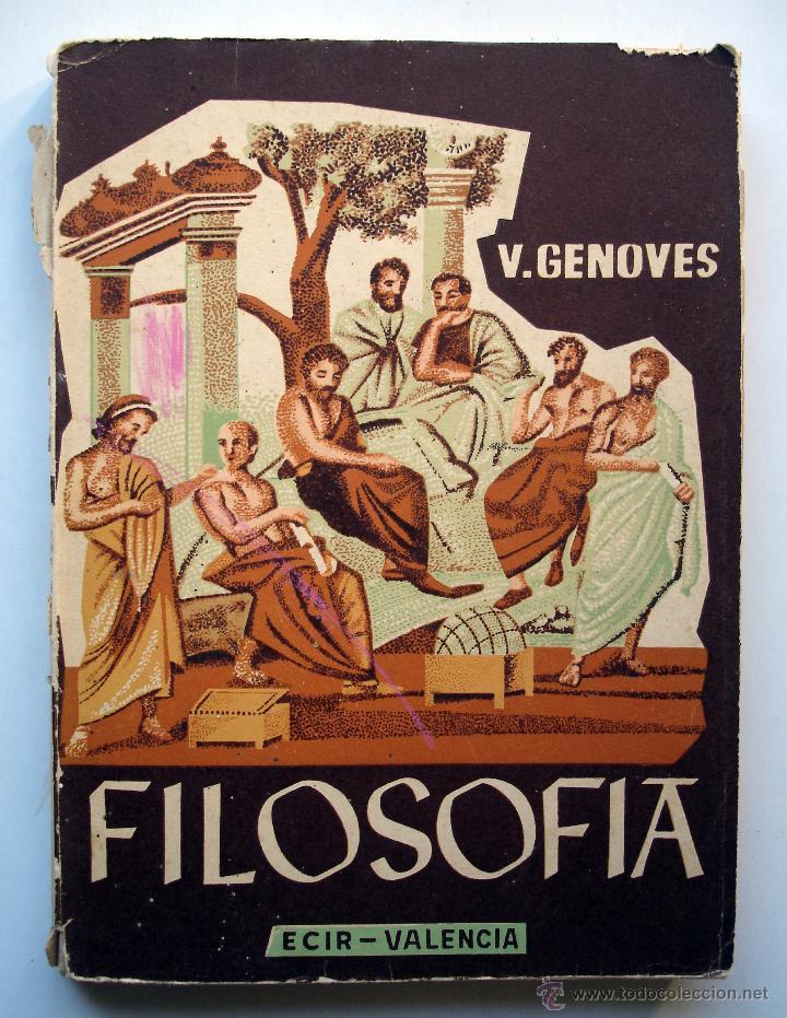 Filosof a programa asignatura vicente genov comprar - Libreria segunda mano valencia ...