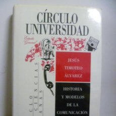 Libros de segunda mano: HISTORIA Y MODELOS DE LA COMUNICACION SIGLO XX (JESUS TIMOTEO ALVAREZ) CIRCULO UNIVERSIDAD. Lote 47636711