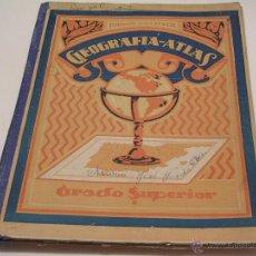 Libros de segunda mano: GEOGRAFÍA - ATLAS AÑO 1946 DE RAFAEL BALLESTER. Lote 47881807