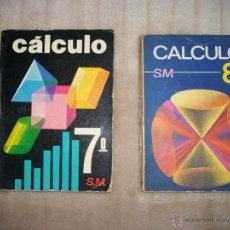 Libros de segunda mano: LIBROS DE CÁLCULO AÑO 1975. Lote 47886833