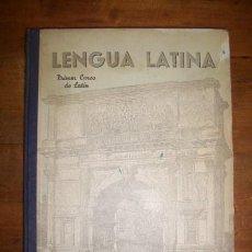 Libros de segunda mano: GARCÍA PASTOR, JESÚS. LENGUA LATINA. PRIMER CURSO : (SEGUNDO DE BACHILLERATO). Lote 47890640