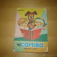 Libros de segunda mano: MI CARTILLA. SEGUNDA PARTE - ALVAREZ. Lote 48355889