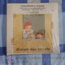 Libros de segunda mano: BUENOS DÍAS, ESCUELA. PENSAMIENTO Y LENGUAJE. METODOLOGÍA DE PROGRAMACIÓN GLOBAL. MARÍA MARTÍNEZ. Lote 48363800