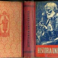 Libros de segunda mano: EDELVIVES : HISTORIA UNIVERSAL (1943). Lote 57710805