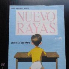 Libros de segunda mano: CARTILLA SEGUNDA RAYAS. ALVAREZ. Lote 48431392