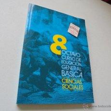 Libros de segunda mano: OCTAVO CURSO DE EDUCACIÓN GENERAL BÁSICA-CIENCIAS SOCIALES--PROYECTO ESLA DE PEDAGOGÍA ACTIVA-1988. Lote 48537982
