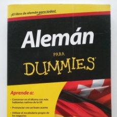Libros de segunda mano: ALEMÁN PARA DUMMIES - CHRISTENSEN, PAULINA / ANNE FOX - CENTRO LIBROS PAPF - 2012. Lote 48602671