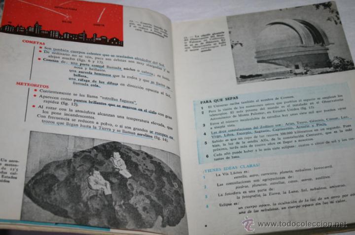 Libros de segunda mano: LIBRO ANTIGUO DE TEXTO, GEOGRAFIA UNIVERSAL 2º CURSO, ANTONIO M. ZUBIA, S. M. 1958 - Foto 3 - 48650879