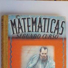 Libros de segunda mano: MATEMATICAS, SEGUNDO CURSO, EDITORIAL LUIS VIVES. Lote 48701278