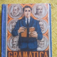 Libros de segunda mano: GRAMATICA TERCER GRADO. EDITORIAL LUIS VIVES, ZARAGOZA, 1947. TAPA DURA. 16 X 21 CMS. 328 PAGINAS. 4. Lote 48904493