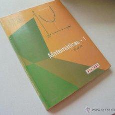 Gebrauchte Bücher - MATEMÁTICAS - 1-BUP-VV AA- ECIR-PLAN 1975.- AÑO 1991- - 49035341