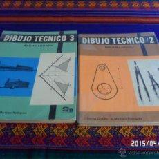 Libros de segunda mano: DIBUJO TÉCNICO 2 Y 3 BACHILLERATO. EDITORIAL SM EDICIÓN DE 1978. J. BERNAL. BUEN ESTADO.. Lote 49172448