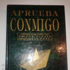 Libros de segunda mano: APRUEBA CONMIGO LENGUA Y LITERATURA CONSULTOR ESPECIAL 1991 EDITORIAL K. R. ADAPTADA A LA LOGSE. . Lote 49272503