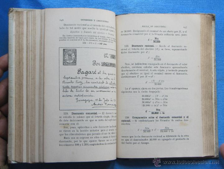 Libros de segunda mano: ARITMÉTICA TERCER GRADO. POR F. T. D. DÉCIMA EDICIÓN. EDITORIAL F. T. D. BARCELONA, 1928. - Foto 3 - 49291681