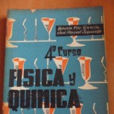 Libri di seconda mano: FISICA Y QUIMICA. 4º CURSO. ROBERTO FEO GARCIA Y JOSE MANUEL IZQUIERDO. EDITORIAL BELLO, VALENCIA 19. Lote 49699623