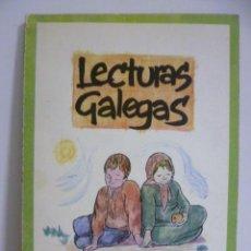 Libros de segunda mano: LECTURAS GALEGAS - VV.AA - EDI GALAXIA 1972 24CM -72PP - PLENO DE CÁLIDAS ILUSTRACIONES A COLOR. Lote 49711581