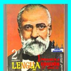 Libros de segunda mano: LENGUA ESPAÑOLA SEGUNDO 2º CURSO - EDITORIAL BRUÑO - EXCELENTE - 1968. Lote 49793253