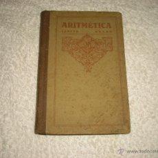 Libros de segunda mano: ARITMETICA . TERCER GRADO . EDELVIVES 1956. Lote 50092288