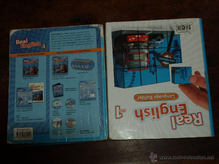 libros de ingles 1º eso. real english 1 eso. st - Comprar