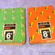 Libros de segunda mano: LENGUA ANAYA EQUIPO ROMANIA 6º EGB Y 8 EGB. Lote 50128322