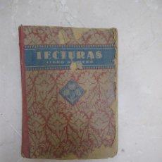 Libros de segunda mano: LECTURAS GRADUADAS. LIBRO PRIMERO, EDELVIVES. 1942? (MAL ESTADO). Lote 50160632
