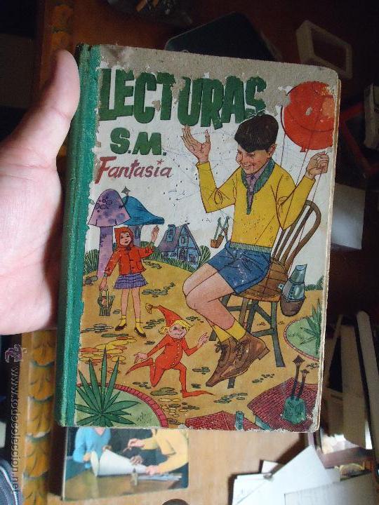 LECTURAS S.M SM , FANTASIA , (Libros de Segunda Mano - Libros de Texto )