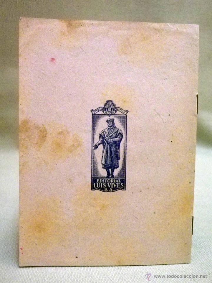 Libros de segunda mano: PROGRAMA DE LENGUA LATINA, PRIMER CURSO, EDITORIAL LUIS VIVES, ZARAGOZA - Foto 2 - 50316094