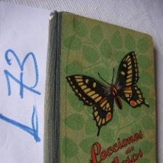 Libros de segunda mano: ANTIGUO LIBRO DE TEXTO - LECCIONES DE COSAS - DALMAU CARLES. Lote 50503520