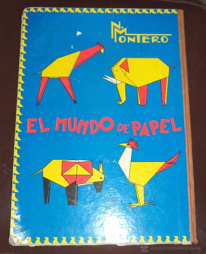 PAPIROFLEXIA,DOCTOR MONTERO,VALLADOLID,1965,ORIGINAL,REGULAR ESTADO,UN CLÁSICO, (Libros de Segunda Mano - Libros de Texto )