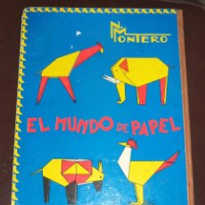 Libros de segunda mano: PAPIROFLEXIA,DOCTOR MONTERO,VALLADOLID,1965,ORIGINAL,REGULAR ESTADO,UN CLÁSICO,. Lote 50554860