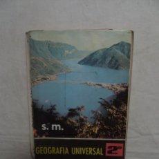 Libros de segunda mano: GEOGRAFIA UNIVERSAL 2º CURSO. Lote 50761628