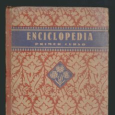 Libros de segunda mano: ENCICLOPEDIA ESCOLAR POR EDELVIVES.PRIMER GRADO.4ª EDICIÓN.ZARAGOZA.1938. Lote 51057197