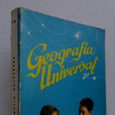 Libros de segunda mano: GEOGRAFIA UNIVERSAL - 2º CURSO DE BACHILLERATO. Lote 51119615