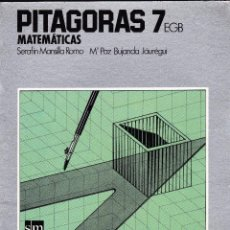 Libros de segunda mano: PITAGORAS 7 MATEMATICAS SM. Lote 51393242