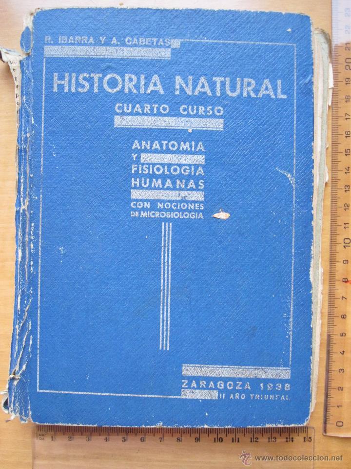 historia natural, cuarto curso , anatomia y fis - Comprar Libros de ...