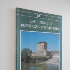Libros de segunda mano: LAS TORRES DE MENDOZA Y MARTIODA - MICAELA J. PORTILLA, 1985. Lote 51593603