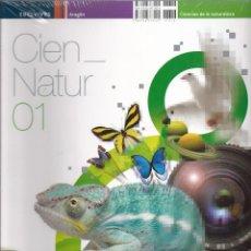 Libros de segunda mano: CIENCIAS NATURALES 1º ESO EDELVIVES AULA 360º ARAGÓN. Lote 51631043
