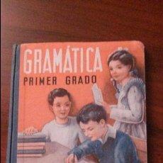 Libros de segunda mano: GRAMÁTICA PRIMER GRADO POR EDELVIVES EDITORIAL LUIS VIVES 1950. Lote 51786979