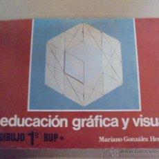 Libros de segunda mano: EDUCACION GRAFICA VISUAL DIBUJO / 1ª BUP - FORMA PLANA / TRIDIMENSIONAL - 1978 - SIN USAR JAMAS. Lote 51964691