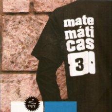 Libros de segunda mano: MATEMÁTICAS 3º ESO EDELVIVES PROYECTO MÁS QUE UNO. Lote 52315827