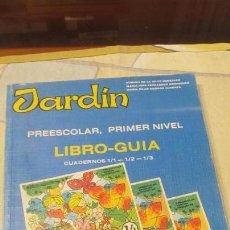 Libros de segunda mano - M69 LIBRO DEL PROFESOR PREESCOLAR JARDIN PRIMER NIVEL CUADERNOS 1 2 3 EDITORIAL EVEREST AÑO 1986 - 52320557