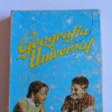 Libros de segunda mano: LIBRO GEOGRAFIA UNIVERSAL 1967 EDICIONES SM MADRID ANTONIO M. ZUBIA. Lote 52643257