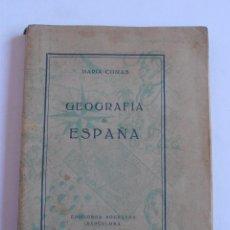 Libros de segunda mano: LIBRO GEOGRAFIA DE ESPAÑA, MARIA COMAS, EDICIONES SOCRATES, BARCELONA. Lote 52667003
