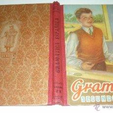 Libros de segunda mano: GRAMATICA ESPAÑOLA. SEGUNDO GRADO. EDITORIAL LUIS VIVES. AÑO 1954. MUY BUEN ESTADO. Lote 52691496