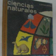 Libros de segunda mano: CIENCIAS NATURALES. QUINTO CURSO. ESTEVE CHUECA FERNANDO. 1970. . Lote 52716987