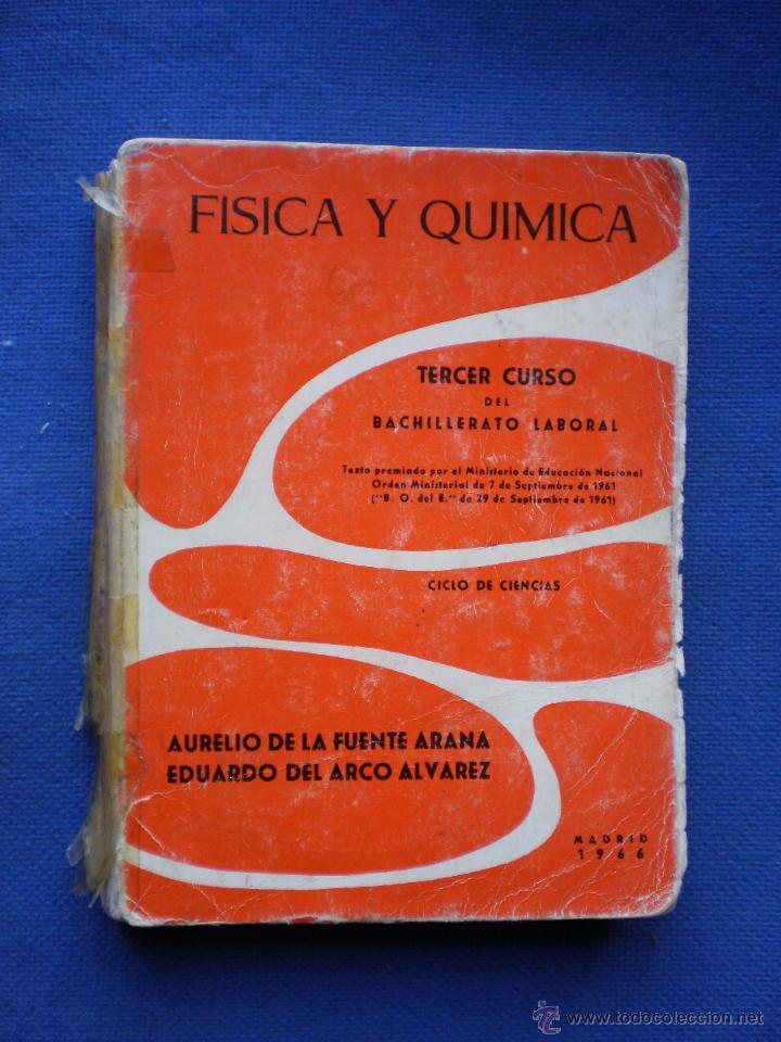 FISICA Y QUIMICA 3º CURSO BACHILLERATO LABORAL. (Libros de Segunda Mano - Libros de Texto )