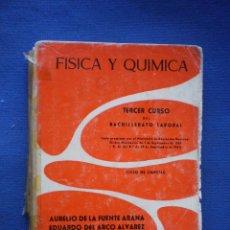 Libros de segunda mano: FISICA Y QUIMICA 3º CURSO BACHILLERATO LABORAL.. Lote 52914799